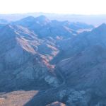Bird's eye view of Spirit Mountain